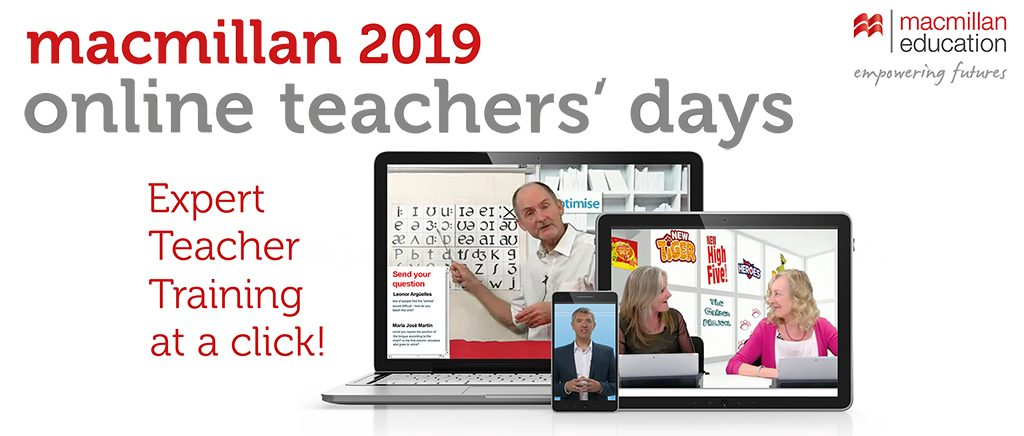 Macmillan Online Teachers' Days 2019