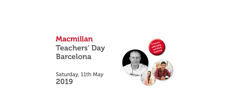 MACMILLAN TEACHERS' DAY BARCELONA ACADEMY – MAY 2019