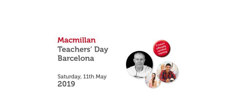 MACMILLAN TEACHERS' DAY BARCELONA ACADEMY – MAY 2019