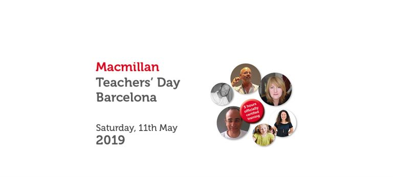 MACMILLAN TEACHERS' DAY BARCELONA – MAY 2019
