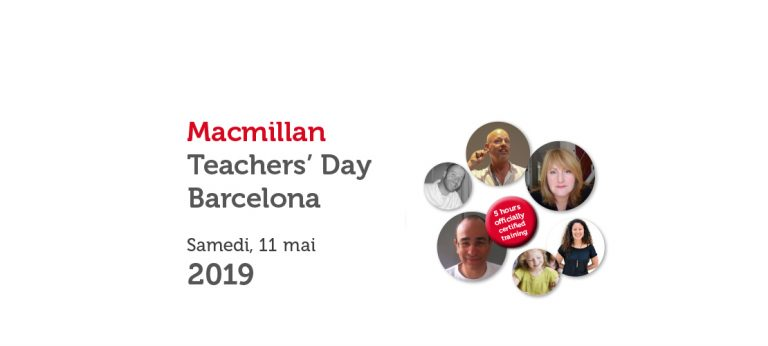 MACMILLAN TEACHERS' DAY BARCELONA – MAI 2019