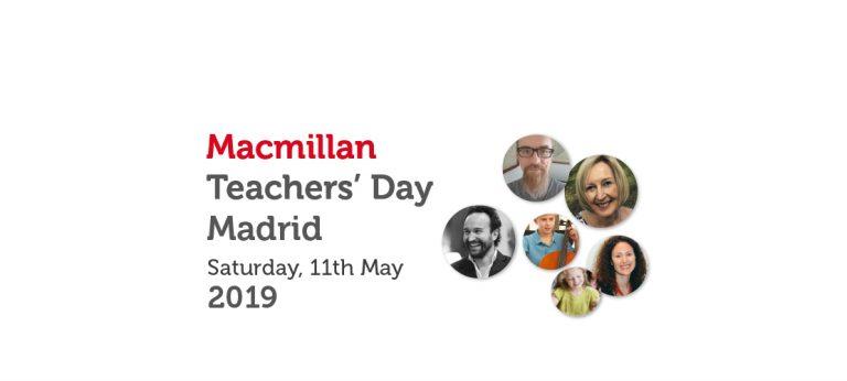 MACMILLAN TEACHERS' DAY MADRID – MAY 2019