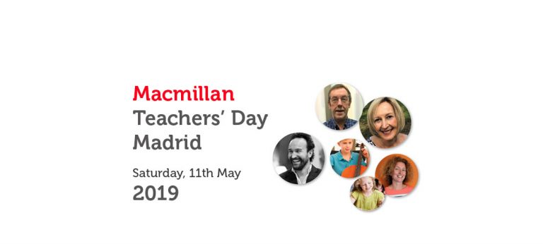MACMILLAN TEACHERS' DAY MADRID – MAY 2019