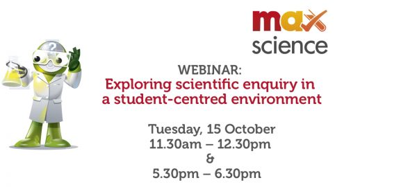 WEBINAR: Exploring scientific enquiry in a student-centred environment