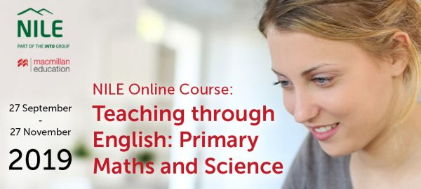 NILE Online Course:  Teaching through English Primary Maths Science