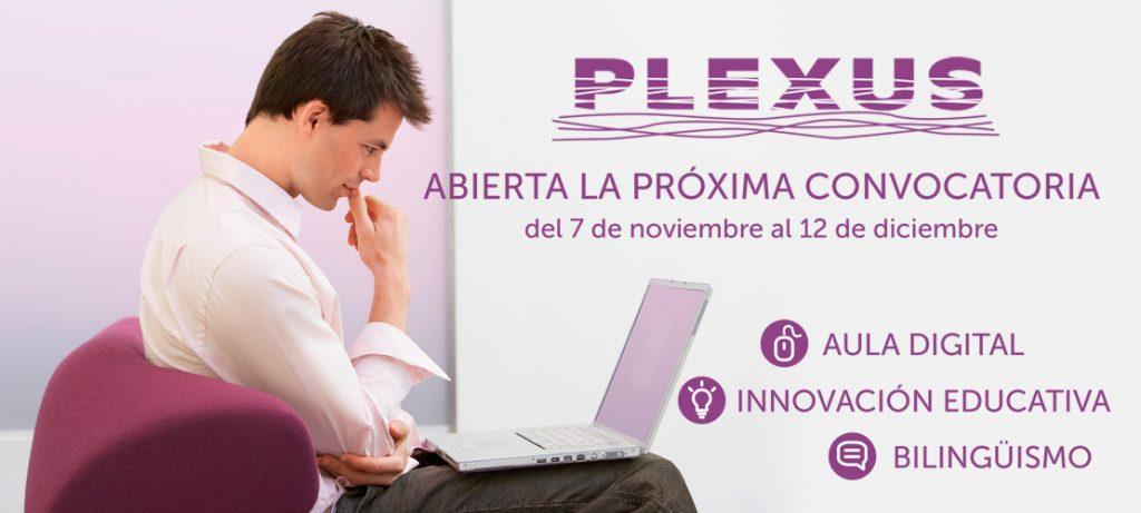Nueva convocatoria Cursos Online PLEXUS Noviembre 2019