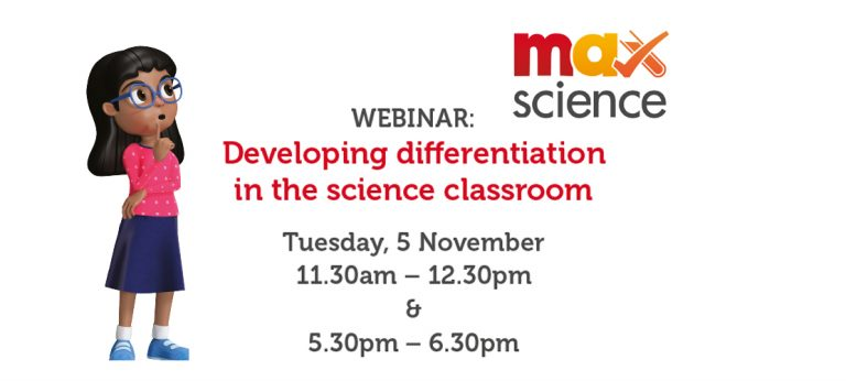 WEBINAR: Developing differentiation in the science classroom