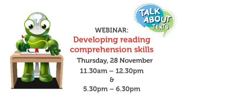 WEBINAR: Developing reading comprehension skills