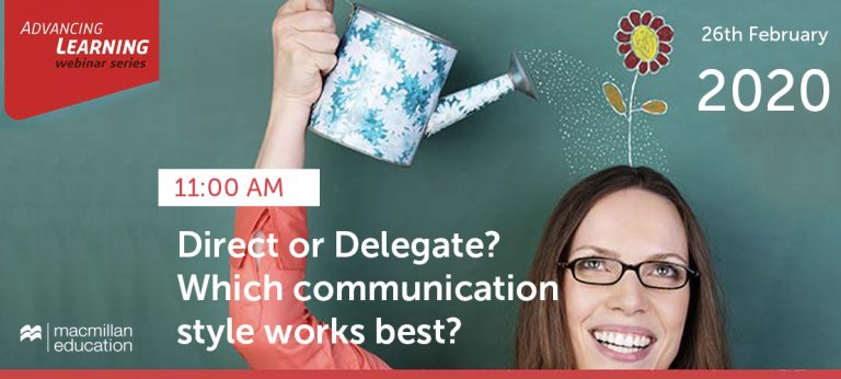 Loraine Kennedy -Direct or Delegate? Which communication style works best?