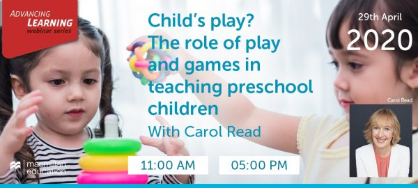 Carol Read - Child's play? The role of play and games in teaching preschool children