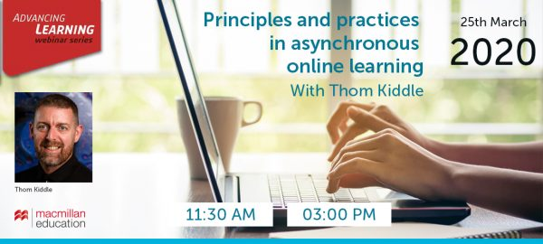 Thom Kiddle - Principles and practices in asynchronous online learning