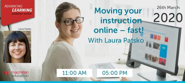 Laura Patsko - Moving your instruction online – fast!