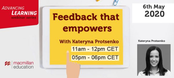 Kateryna Protsenko - Feedback that Empowers