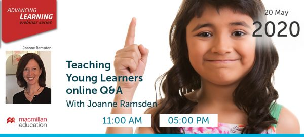 Joanne Ramsden - Teaching Young Learners online Q&A