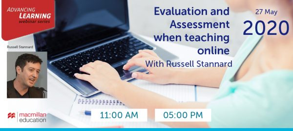 Russell Stannard - Evaluation and Assessment when teaching online