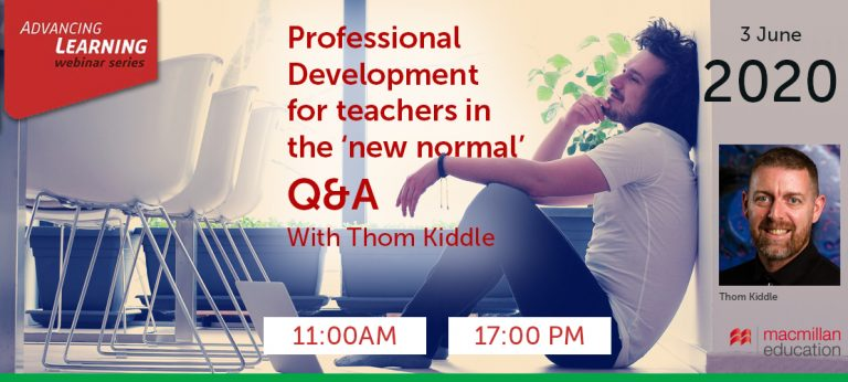 Thom Kiddle - Professional Development for teachers in the 'new normal' Q&A