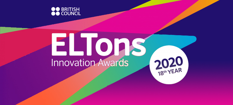 Celebrating finalist products in the ELTons Innovation Awards 2020