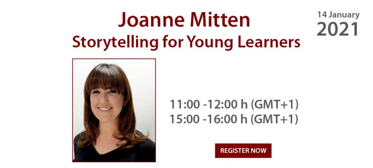 Joanne Mitten - Storytelling for Young Learners