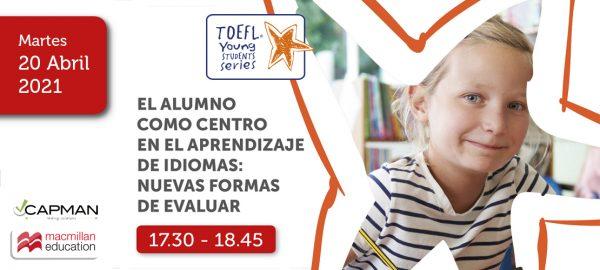 Evento online: El alumno como centro en el aprendizaje de idiomas: nuevas formas de evaluar