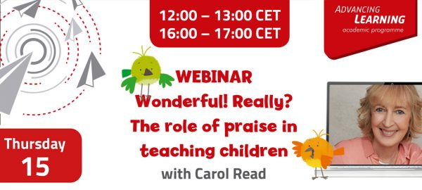 Carol Read - Wonderful! Really? The role of praise in teaching children